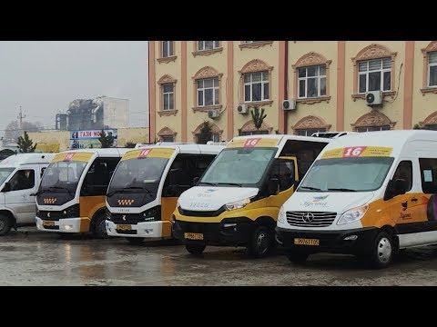 В Душанбе начали курсировать новые маршрутки
