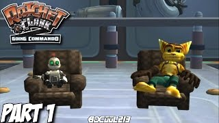 RATCHET & CLANK GOING COMMANDO GAMEPLAY WALKTHROUGH PART 1 PLANET ARANOS & OOZLA - PS2 LETS PLAY