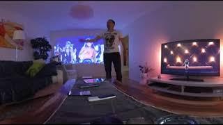 Xiaomi Mi Laser Projector - Visual comparison vs. TV & Standard Projector 📽 360° video