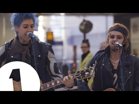 The Vamps - Secret Busker - BBC Radio 1