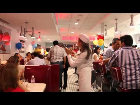 Pre Openning at Johnny Rockets Tunisia