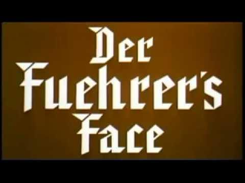 Donald Duck  Nazi Episode with Prologue Speech (der Fuehrer