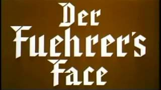 Donald Duck  Nazi Episode with Prologue Speech (der Fuehrer