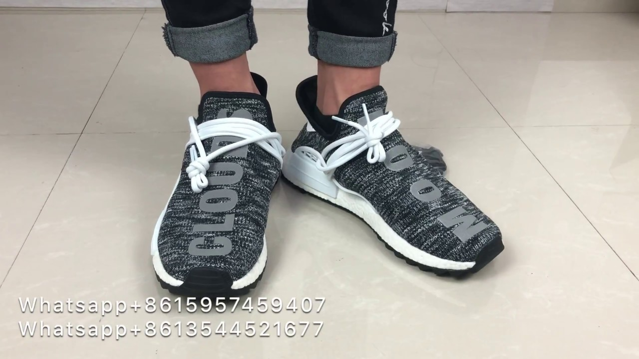 finest selection d2b0c 883b7 Quick Review!Adidas Human Race NMD Pharrell Oreo On Foot