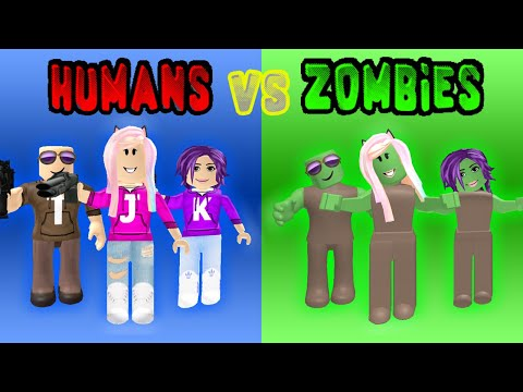 HUMANS VS ZOMBIES MINIGAMES! / Roblox: Infected Games