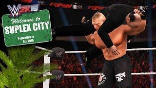 Suplex City : Paul Heyman Becomes the Latest Citizen of Suplex City (WWE 2K15 Mods)