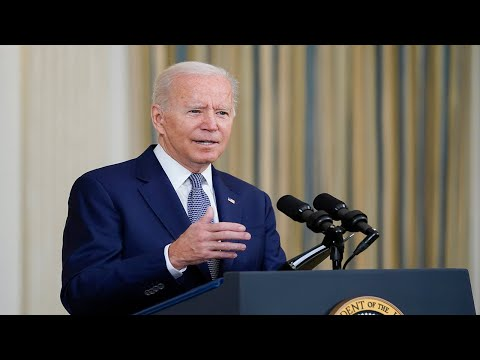 President Biden delivers remarks on his Build Back Better agenda