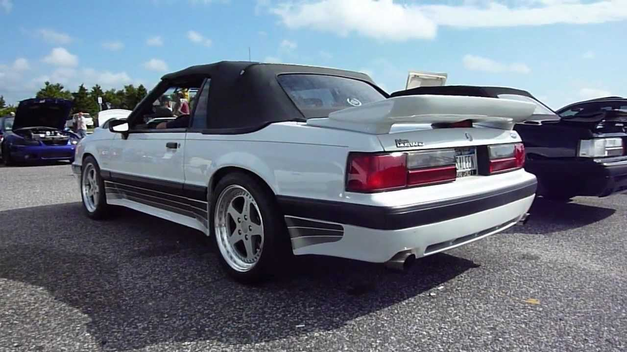 Mustang Gt 0 60 >> Saleen Mustang Foxbody's at Oak Beach, Long Island, NY ...