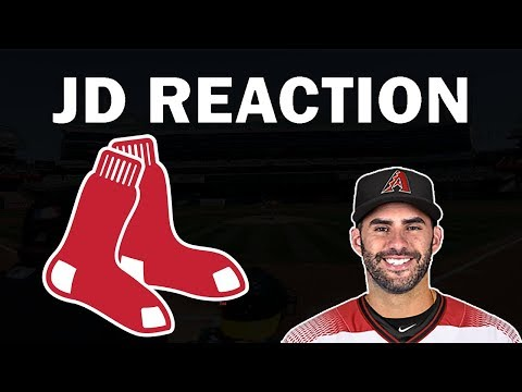 JD Martinez Signing Reaction!! JD Martinez Signs With The Red Sox