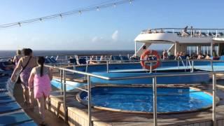 Thomson Dream Cruise Ship,, a quick tour.