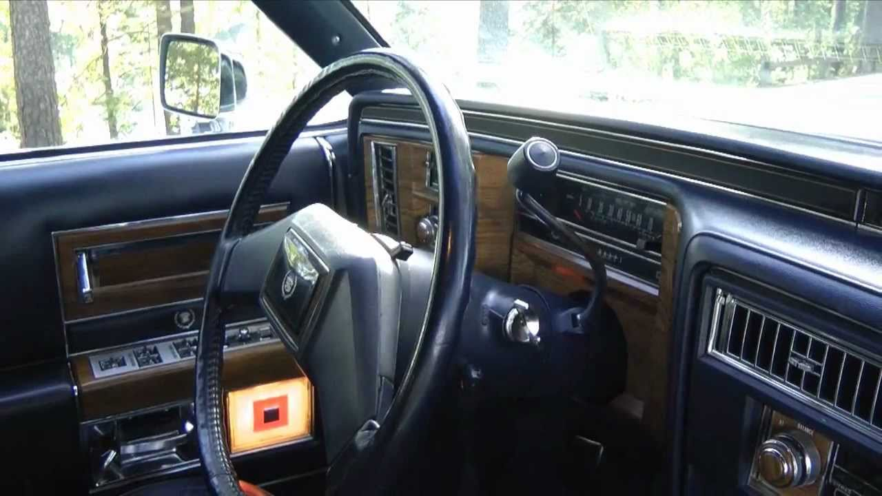 1981 Cadillac Fleetwood Brougham D Elegance Start Up And