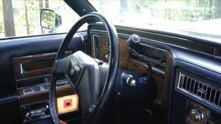 1981 Cadillac Fleetwood Brougham d'Elegance - start-up and test drive