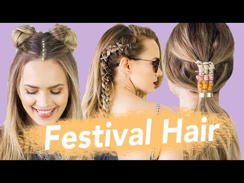 The Best Festival Hairstyles for 2018  KayleyMelissa