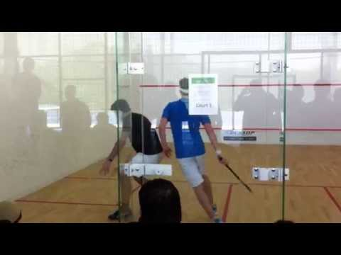 Squash Final LRC Lisbon PSA closed satellite 2015 4 Set part1