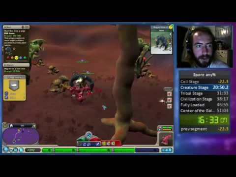 Spore any% in 49:37