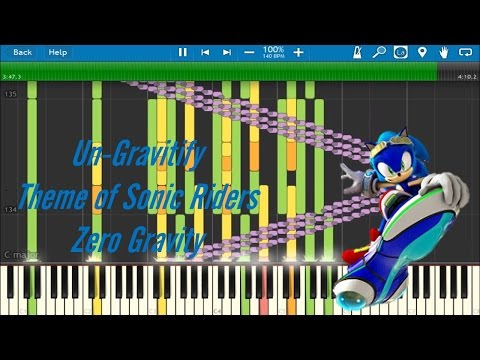 Un Gravitify- Hero Theme of Sonic Riders ZG- Synthesia