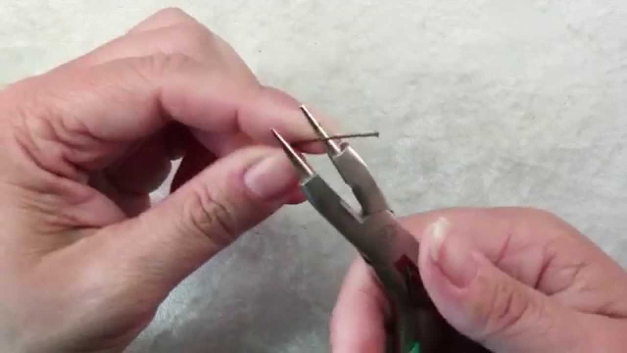 How To Use Round Nose Pliers Jewelry Making ToolsTutorial