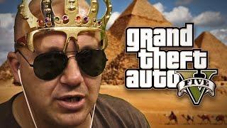 SAD IZGLEDA KAO FARAON ! Grand Theft Auto V - Lude Trke w/Cale thumbnail