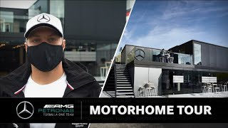 Touring the Motorhome with Valtteri! 👀