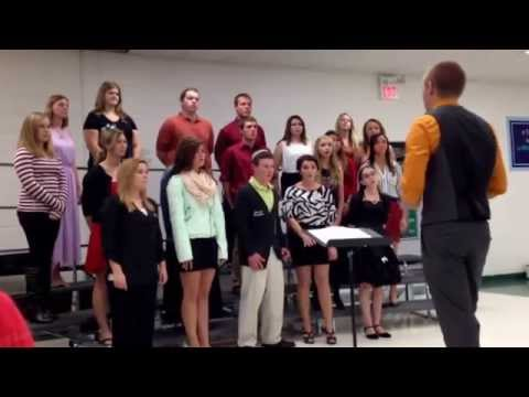 North Callaway high school choir 2013-2014