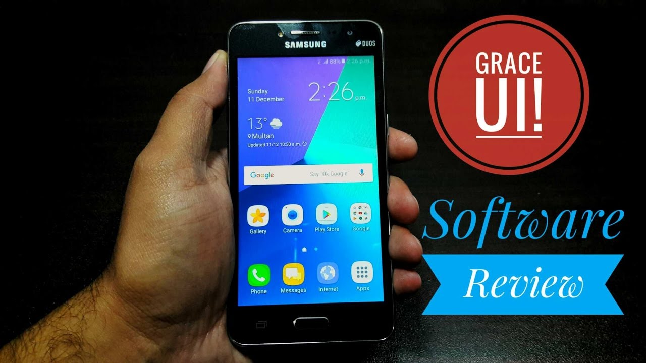 Samsung Galaxy Grand Prime Plus Software review! Grace UI is fantastic!