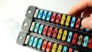 Блок предохранителей нового образца - под ЕВРО предохранители на авто ВАЗ 2101-2106 (41.3722) АВАР