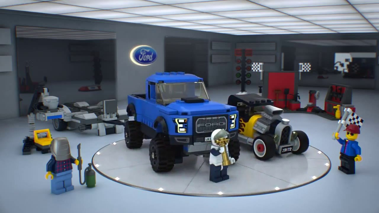 lego 75875 lego speed champions ford f 150 raptor s. Black Bedroom Furniture Sets. Home Design Ideas