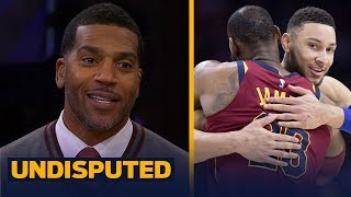Jim Jackson questions if LeBron joining Embiid, Simmons in Philly is a good fit   NBA   UNDISPUTED