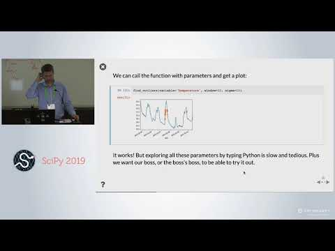 Turn Any Notebook Into A Deployable Dashboard | SciPy 2019 | James Bednar