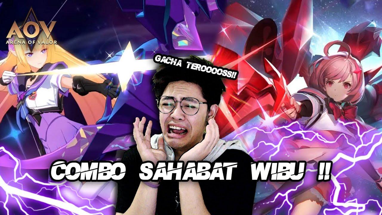 COMBO SAHABAT WIBU TELANAS SUPPORT TANK ft DFC FULL TEAM !! GACHA TEROOOS YA AMPUN