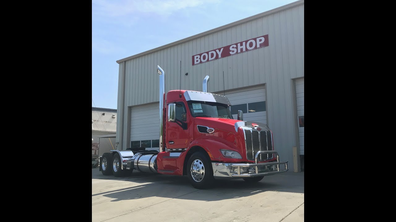 SOLD Rosebilt: 2015 Customized Peterbilt 579-Day Cab Conversion by Piedmont  Peterbilt, LLC