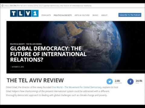 Global democracy: future of international relations? (radio interview)