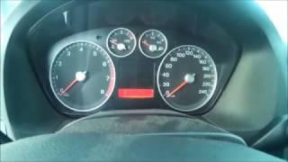 Девятилетний аккумулятор в -28 на фордокус 2. Чернохерь из выхлопной. frost -28 vs. Ford Focus 2
