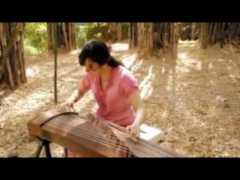 Indonesia Pusaka Song, Combination Chinese Music Traditional (GU ZHENG)