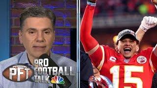 NFL Conference Championship superlatives: Mahomes' wild run | Pro Football Talk | NBC Sports