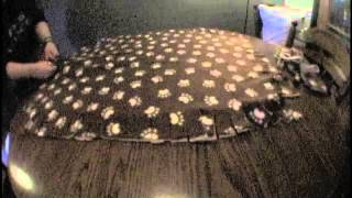 No-sew Pet Bed By Ashley Stair