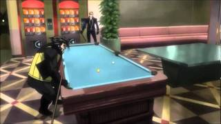 X-Men Anime: Wolverine and Cyclops play pool