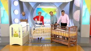 видео Бампер в кроватку для новорожденных, детской кроватки