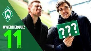 #WERDERQUIZ 11er - Per Mertesacker & Clemens Fritz | SV Werder Bremen