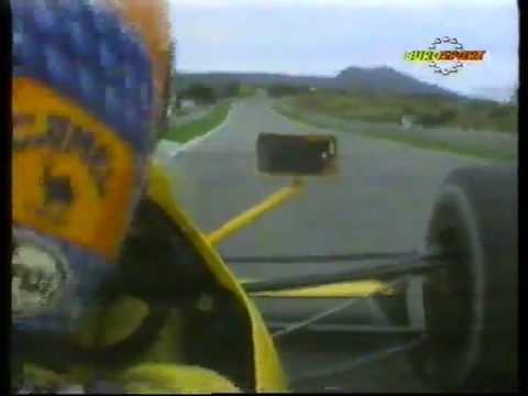 Martin Donnelly talks us round Estoril (in car)