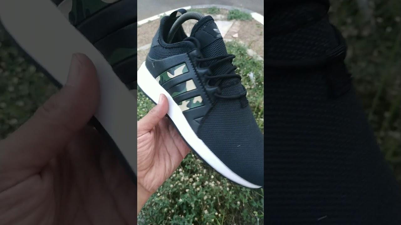 Adidas XPLR Black Camo - YouTube