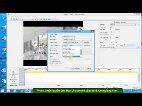 Cách xuất video karaoke Full HD 1080p bằng Karafun