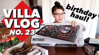 Private Sushi Party + Birthday Haul | Villa Vlog No. 23 | soothingsista