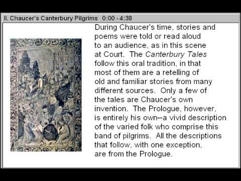 Chaucers Canterbury Pilgrims (The Time, Life & Works of Geoffrey Chaucer Part 2)