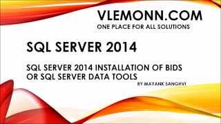 SQL Server 2014 Install SQL Server Data Tools