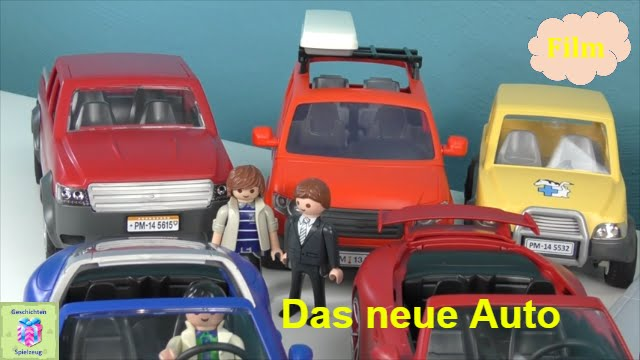 playmobil film deutsch wir kaufen ein auto playmobil. Black Bedroom Furniture Sets. Home Design Ideas