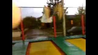 Freestyle su trampolini elastici 2 (35 capriole!!!!)