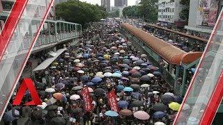Hong Kong protests in Yuen Long