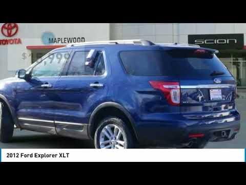 2012 Ford Explorer XLT Maplewood, St Paul, Minneapolis, Brooklyn Park, MN J11094A