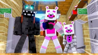 Helpy and Twisted Wolf Go To School! Minecraft FNAF Roleplay